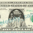 OUTKAST on REAL Dollar Bill Cash Money Bank Note Currency Dinero Celebrity