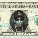 EAZY E on REAL Dollar Bill Cash Money Bank Note Currency Dinero Celebrity