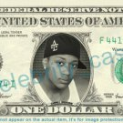 CARNELL BREEDING B5 on REAL Dollar Bill Cash Money Bank Note Currency Dinero