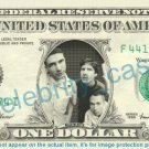 BEASTIE BOYS on REAL Dollar Bill Cash Money Bank Note Currency Dinero Celebrity