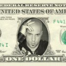 CHRIS DAUGHTRY on REAL Dollar Bill Cash Money Bank Note Currency Dinero