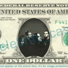 SEETHER Music Band on REAL Dollar Bill Cash Money Bank Note Currency Dinero