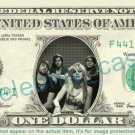 PARAMORE Music Band on REAL Dollar Bill Cash Money Bank Note Currency Dinero