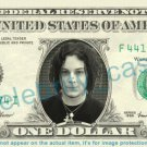 JACK WHITE Singer on REAL Dollar Bill Cash Money Bank Note Currency Dinero