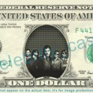 HINDER Music Band on REAL Dollar Bill Cash Money Bank Note Currency Dinero