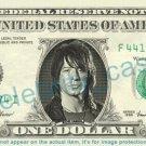 RICHIE SAMBORA Bon Jovi on REAL Dollar Bill Cash Money Bank Note Currency Dinero