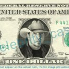 JASON ALDEAN singer on REAL Dollar Bill Cash Money Bank Note Currency Dinero