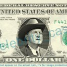 BILL MONROE on REAL Dollar Bill Cash Money Bank Note Currency Dinero Celebrity