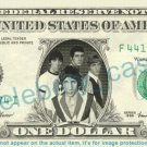 THE WHO on REAL Dollar Bill Cash Money Bank Note Currency Dinero Celebrity