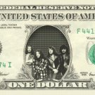 JETHRO TULL on REAL Dollar Bill Cash Money Bank Note Currency Dinero Celebrity