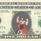 QUEEN OF HEARTS Alice Wonderland Disney On Real Dollar Bill Cash Money Bank Note