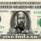 THE ROCK Dwayne Johnson Wrestler WWE on REAL Dollar Bill Cash Money Bank Note
