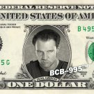 DEAN AMBROSE Wrestler WWE on REAL Dollar Bill Cash Money Bank Note Currency