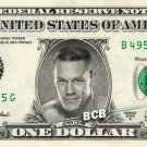 JOHN CENA Wrestler WWE on REAL Dollar Bill Cash Money Bank Note Currency Dinero