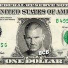 RANDY ORTON Wrestler WWE on REAL Dollar Bill Cash Money Bank Note Currency