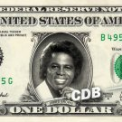 JAMES BROWN on REAL Dollar Bill Cash Money Collectible Memorabilia Charlie Bank