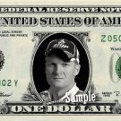 DALE EARNHARDT JR on REAL Dollar Bill Cash Money Bank Note Currency Dinero