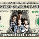 5 SECONDS OF SUMMER on REAL Dollar Bill Cash Money Bank Note Currency Celebrity