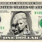 Kesha Ke$ha on REAL Dollar Bill Cash Money Bank Note Currency Celebrity Dinero