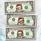 PERSONALIZED Christmas Cash - REAL MONEY - Your Face & Name - Stocking Stuffer
