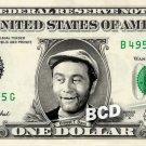 Ernest T Bass on REAL Dollar Bill Cash Money Memorabilia Collectible Celebrity