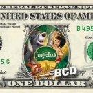 JUNGLE BOOK the Movie on REAL Dollar Bill Disney Cash Money Memorabilia Mint