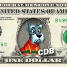 JOCK - Lady and the Tramp on REAL Dollar Bill Disney Cash Money Memorabilia Mint