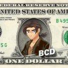 JIM HAWKINS - Treasure Planet on REAL Dollar Bill Disney Cash Money Memorabilia