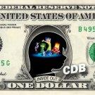 INSIDE OUT the Movie on REAL Dollar Bill Disney Cash Money Memorabilia Mint $