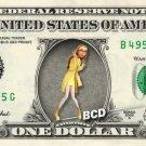 HONEY LEMON Big Hero 6 on REAL Dollar Bill Disney Cash Money Memorabilia Mint