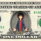 HIRO HAMADA Big Hero 6 on REAL Dollar Bill Disney Cash Money Memorabilia Mint