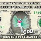 FLIT - Pocahantas on REAL Dollar Bill Disney Cash Money Memorabilia Collectible