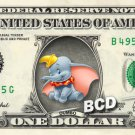 DUMBO on REAL Dollar Bill Disney Cash Money Memorabilia Collectible Celebrity
