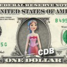 CORA - Sophia the first on REAL Dollar Bill Disney Cash Money Memorabilia Mint