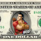 GASTON - Beauty & the Beast on REAL Dollar Bill Disney Cash Money Memorabilia