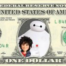 Big Hero 6 Baymax - Hiro on REAL Dollar Bill Disney Cash Money