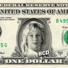 ALUNDRA BLAYZE on REAL Dollar Bill WWE Wrestler Cash Money Memorabilia Celebrity Bank