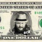 BRAY WYATT on REAL Dollar Bill WWE Wrestler Cash Money Memorabilia Celebrity Bank