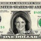 LITA on REAL Dollar Bill WWE Wrestler Cash Money Memorabilia Celebrity Bank