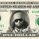 RANDY SAVAGE on REAL Dollar Bill WWE Wrestler Cash Money Memorabilia Celebrity Bank