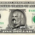 TENSAI on REAL Dollar Bill WWE Wrestler Cash Money Memorabilia Celebrity Bank