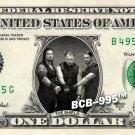 THE SHIELD on REAL Dollar Bill WWE Wrestler Cash Money Memorabilia Celebrity Bank