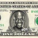 TITUS O'NEIL on REAL Dollar Bill WWE Wrestler Cash Money Memorabilia Celebrity Bank