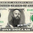 ERICK ROWAN on REAL Dollar Bill WWE Wrestler Cash Money Memorabilia Celebrity Bank
