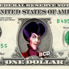 LADY TREMAINE Cinderella on REAL Dollar Bill Disney Cash Money Memorabilia