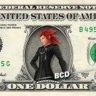 LEA Kingdom Hearts - REAL Dollar Bill Disney Cash Money Memorabilia Collectible