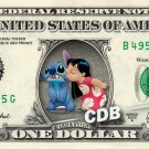 LILO & STITCH - REAL Dollar Bill Disney Cash Money Memorabilia Collectible Bank