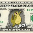 LOUIS Princess & Frog REAL Dollar Bill Disney Cash Money Memorabilia Collectible