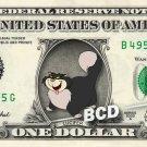 LUCIFER Cinderella - REAL Dollar Bill Disney Cash Money Memorabilia Collectible