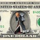 MASTER XEHANORT - REAL Dollar Bill Disney Cash Money Memorabilia Collectible
